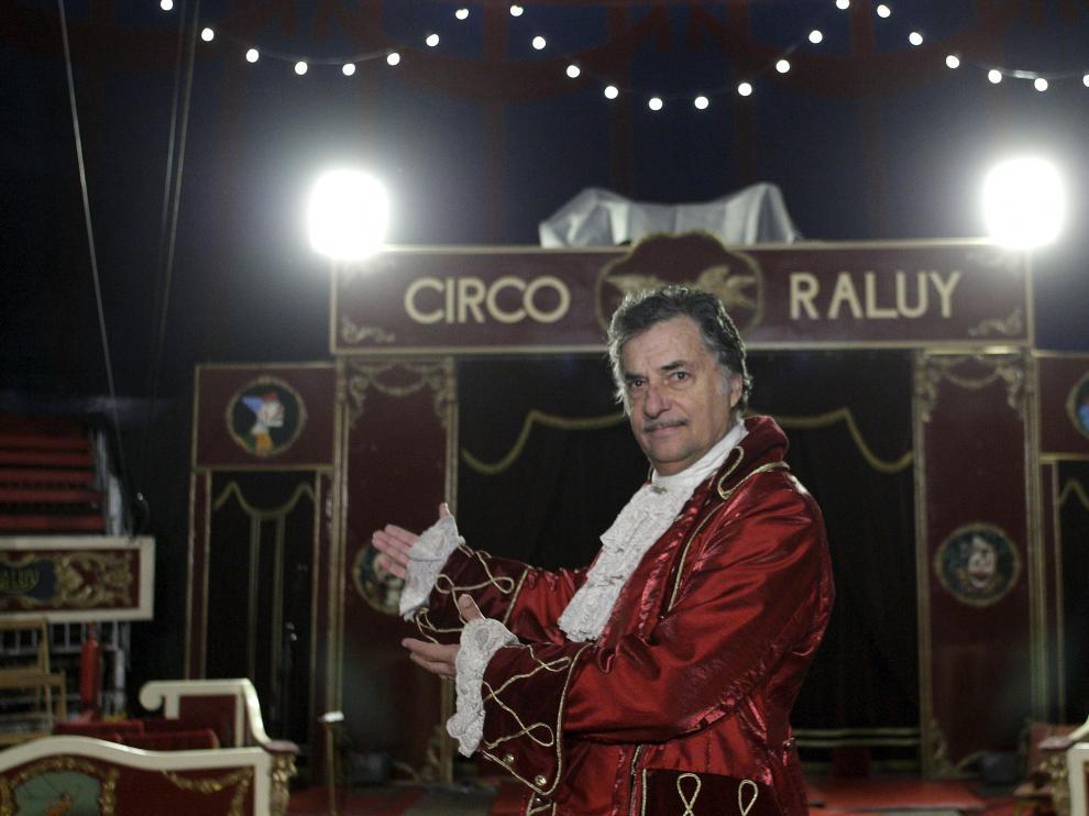 Carlos Raluy, fundador del Circo Raluy.