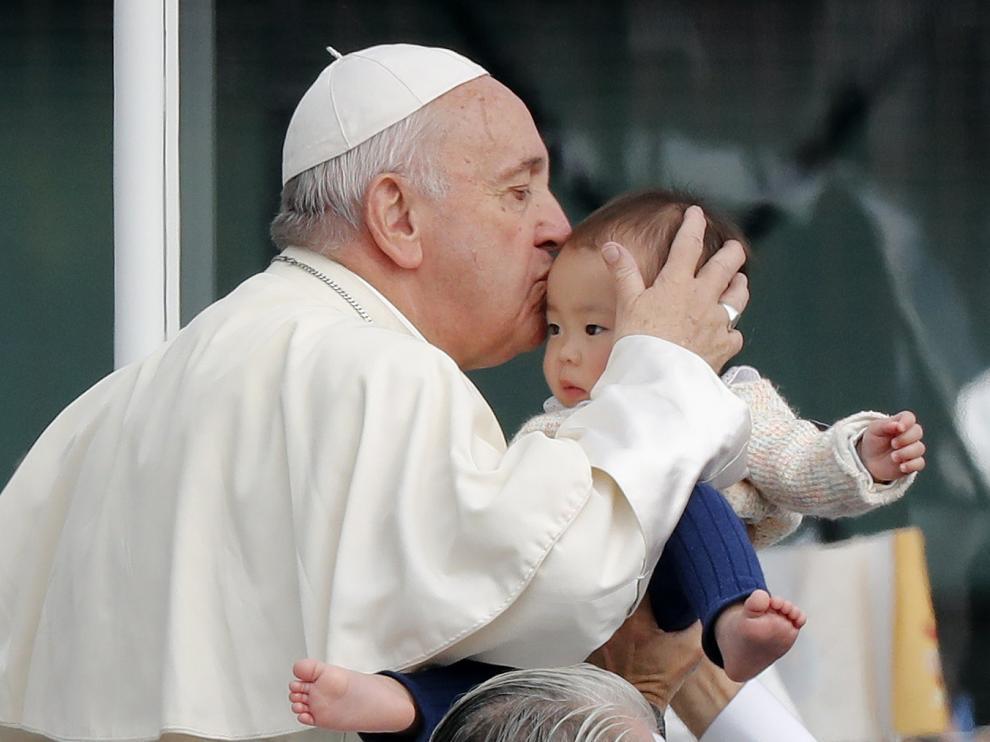 El papa Francisco está estos días de visita en Japón