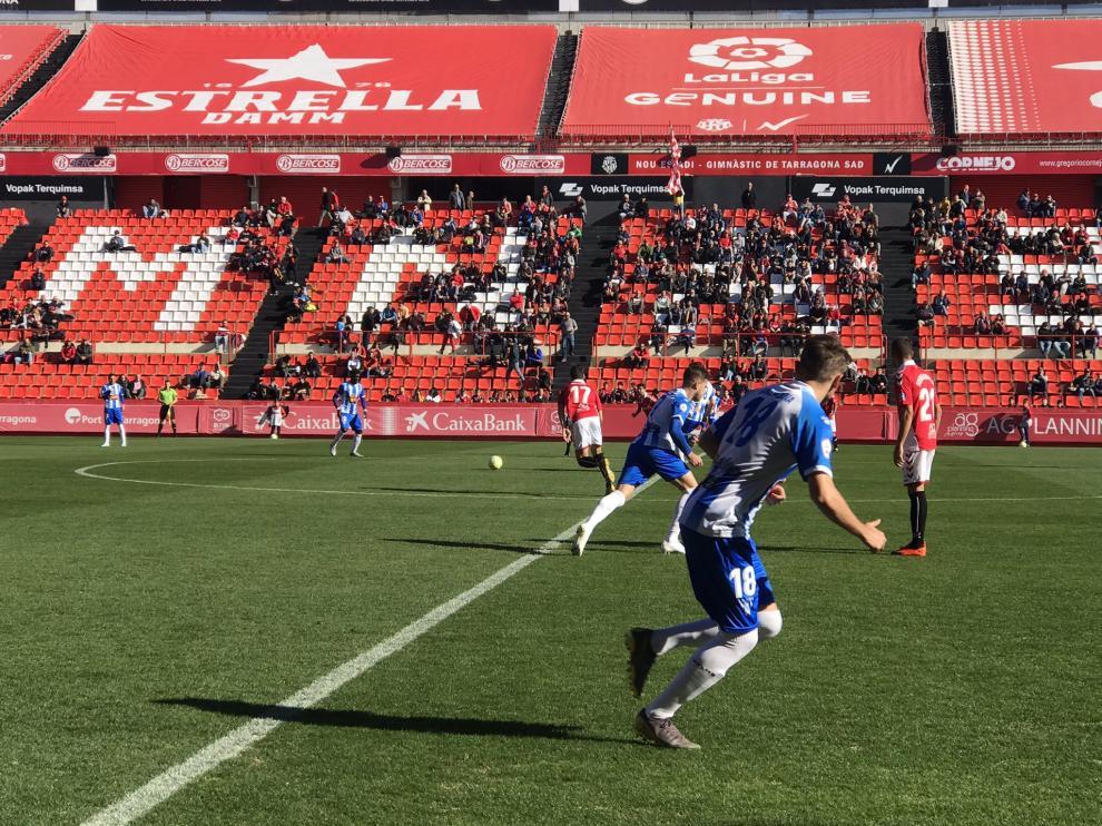 Fútbol. Segunda B- Gimnástic Tarragona vs. Ejea.