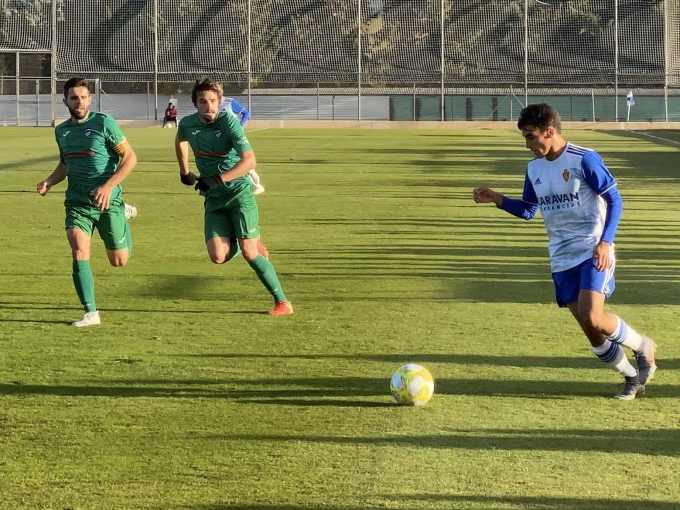 Fútbol. Tercera División- RZD Aragón vs. Utebo