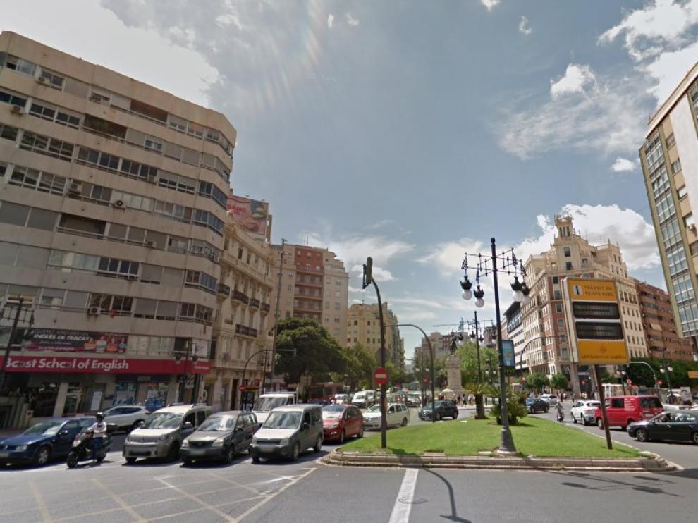 La pelea se ha producido en la estación de metro de la plaza de España de Valencia.