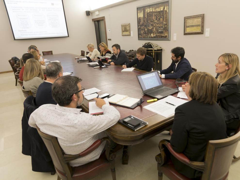 Reunión conjunta de las comisiones de Desarrollo y Tecnología este lunes en el Ayuntamiento.