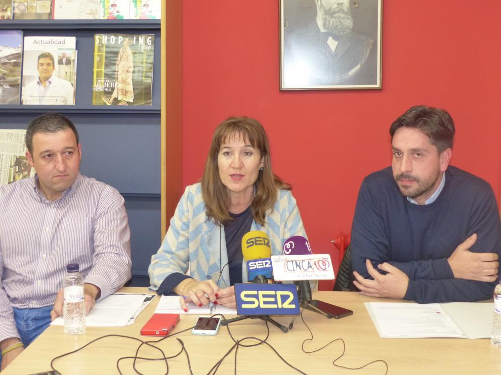 Álvaro Palau, Olga Asensio y Miguerl Hernández.