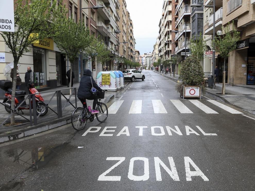 Calle Zaragoza / 24-4-29 / Foto Rafael Gobantes [[[FOTOGRAFOS]]]