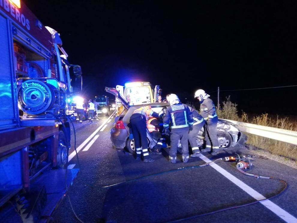 Accidente en la A-123