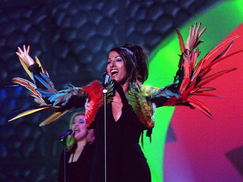 Dana Internacional ganó el festival de Eurovisión en 1998.