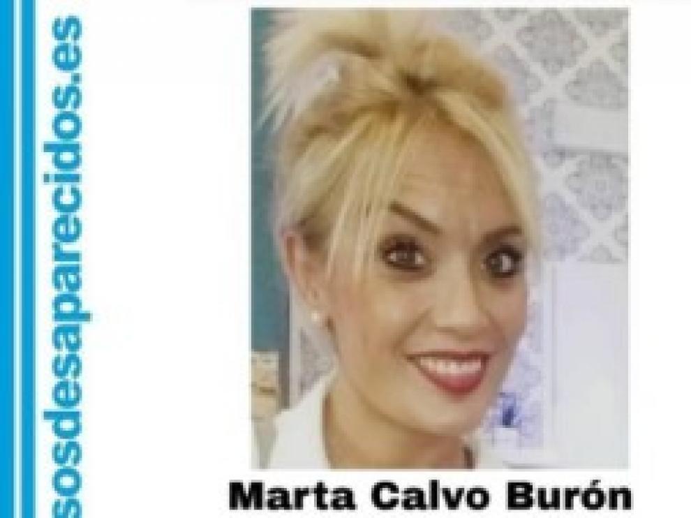 Foto de la joven Marta Calvo, cuya desaparición se denunció el pasado sábado.