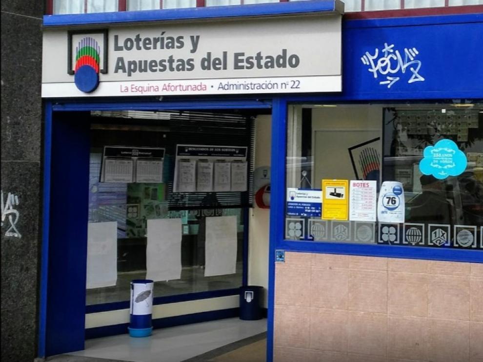 La comprobación se hizo en la administración de loterías San Agustín, en La Coruña.