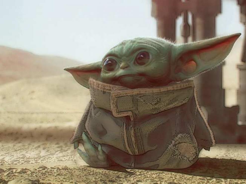 'Baby Yoda', el adorable personaje de la serie 'The Mandalorian'.
