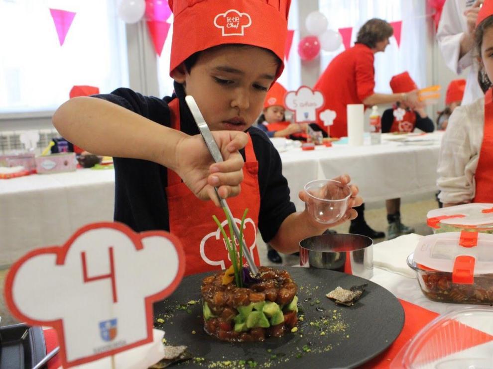 Los pequeños mostraron sus grandes habilidades culinarias