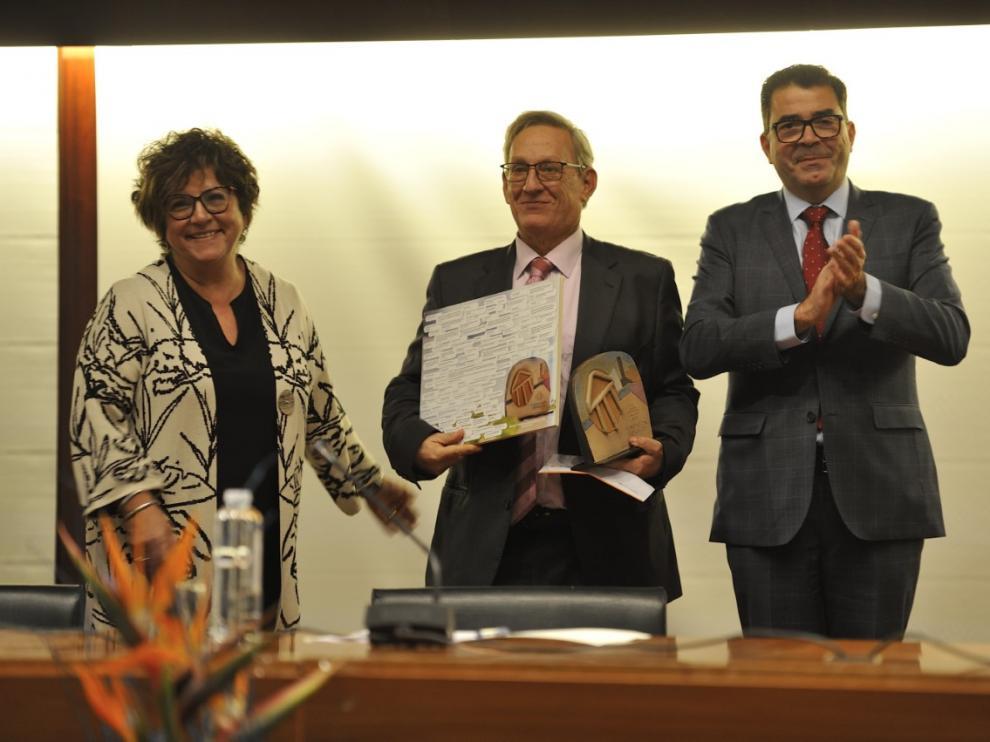 Imagen de la entrega del XI Galardón esPúblico en la DPH.