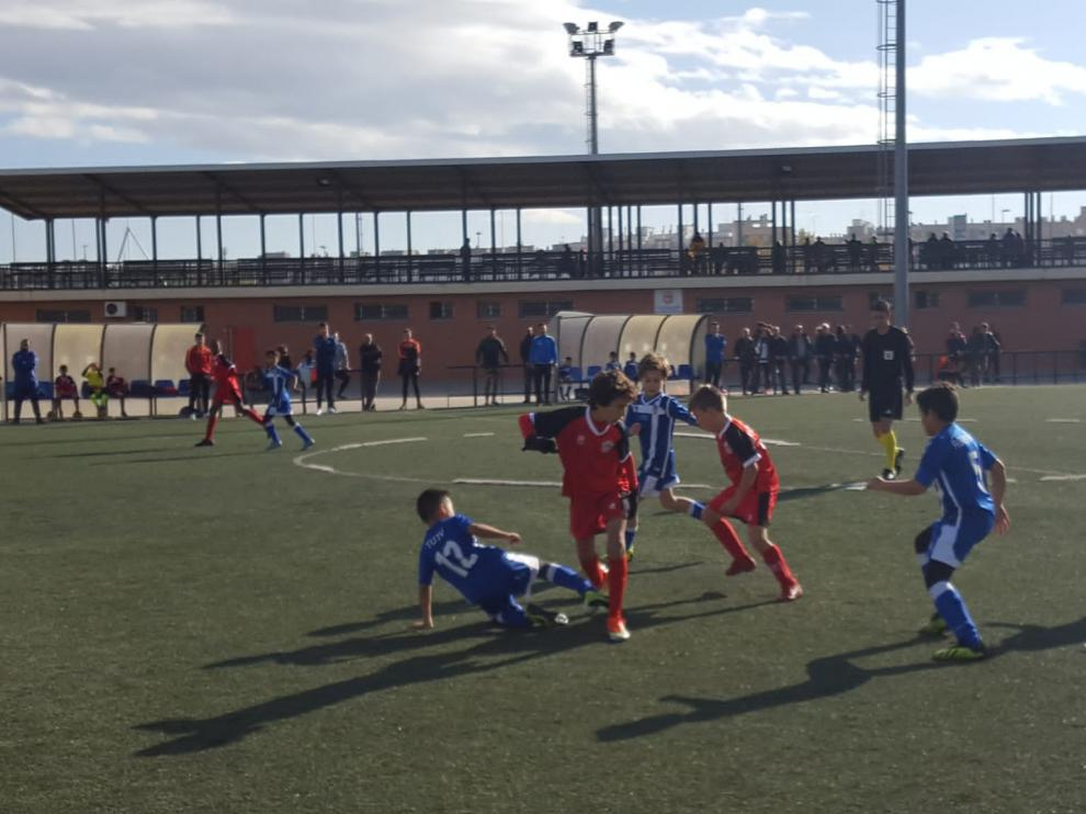 Fútbol. Benjamín Preferente- San Gregorio vs. Escalerillas.
