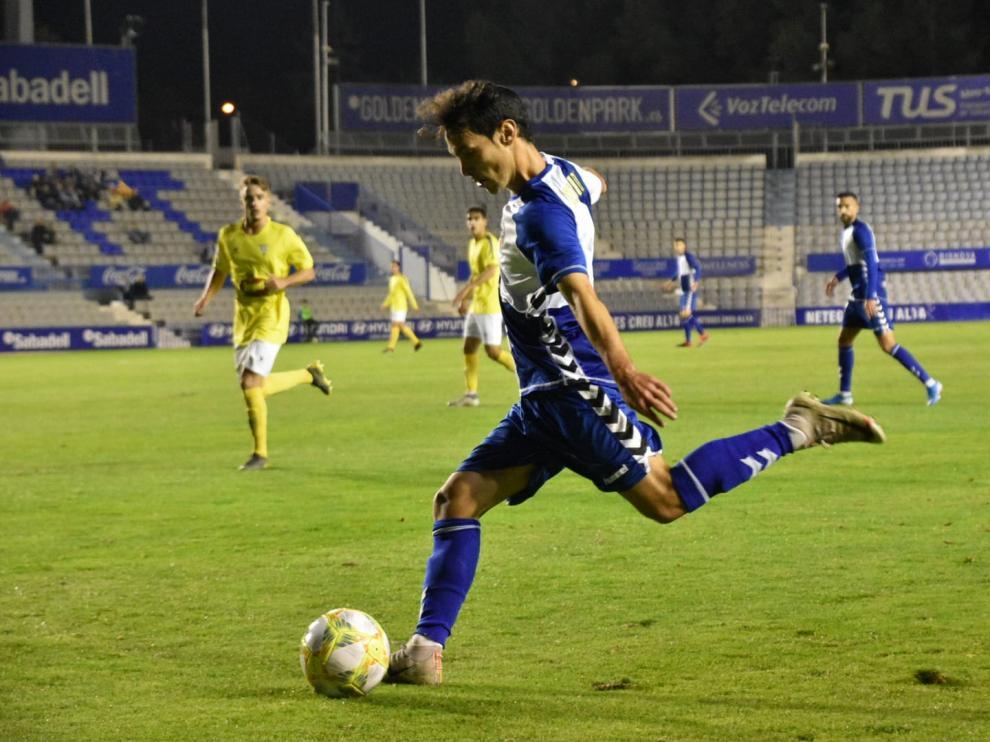 Fútbol. Segunda B- Sabadell vs. Ejea.