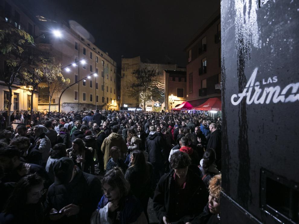 CULTURA Y OCIO. Espacio Las Armas.Concierto aniversarioy protesta en contra / 30-11-2019 / FOTO: GUILLERMO MESTRE [[[FOTOGRAFOS]]]