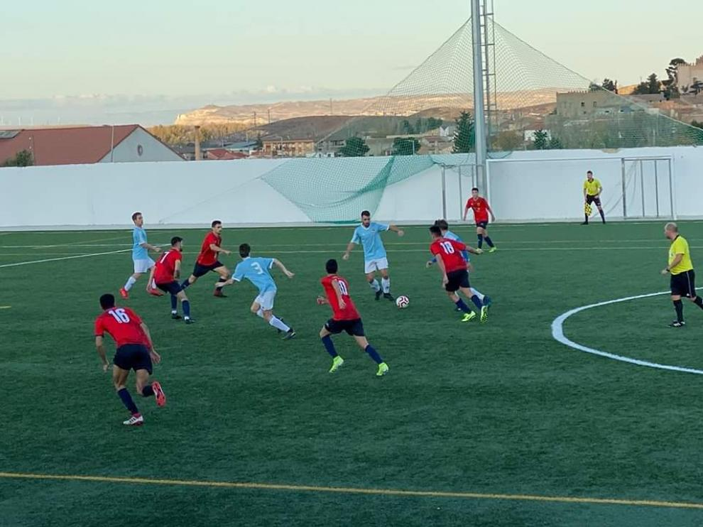 Fútbol. Regional Preferente- Calatorao vs. Cella.