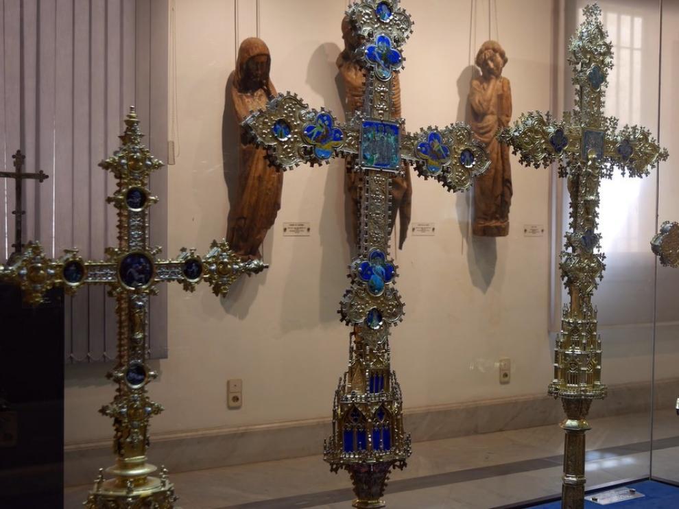 Algunos de los fondos del Museo de Arte Sacro de Teruel