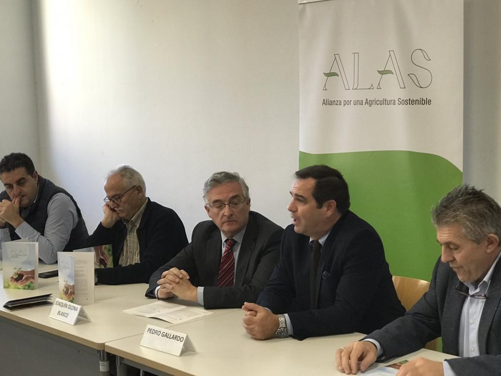 Presentación de la plataforma ALAS en Zaragoza.