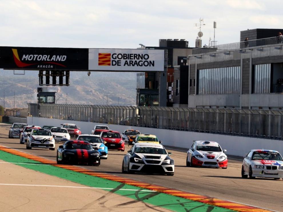 El clrcuito de Motorland en Alcañiz puso el broche al Regional de velocidad