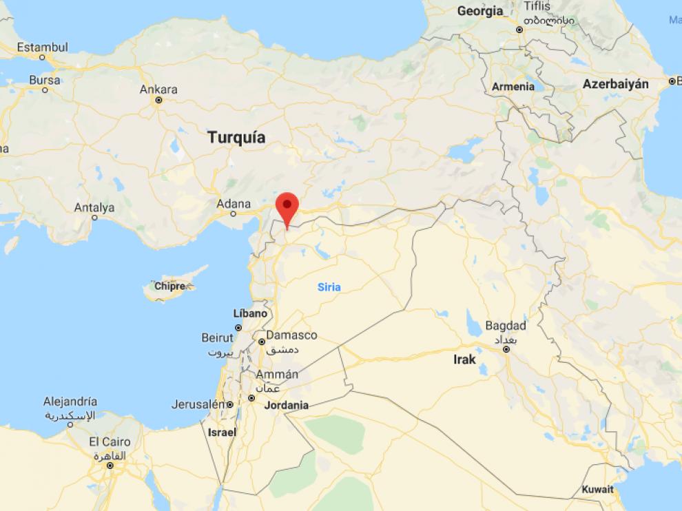 El suceso ha tenido lugar cerca de una escuela en la localidad kurda de Tal Rifat, en el noroeste de Siria,