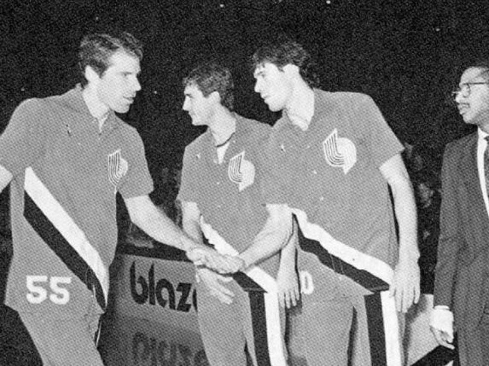 Fernando Martín, el pionero español en la NBA