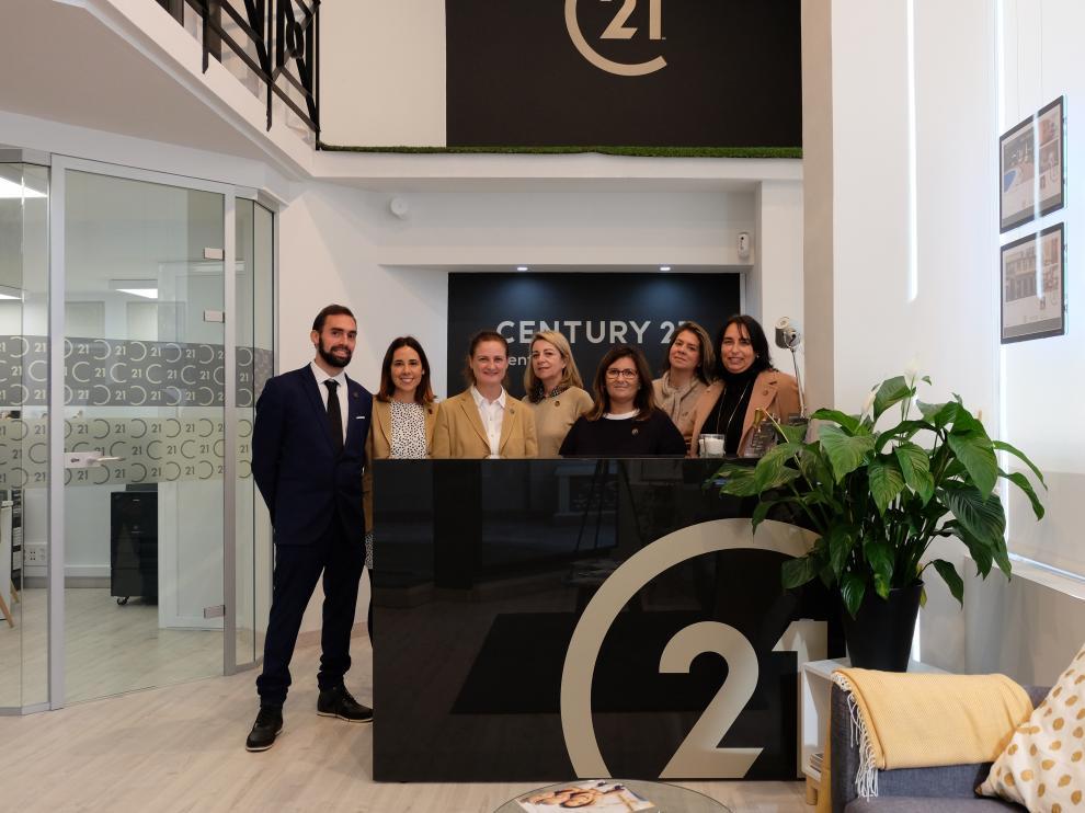 Equipo de Century 21 en Zaragoza.
