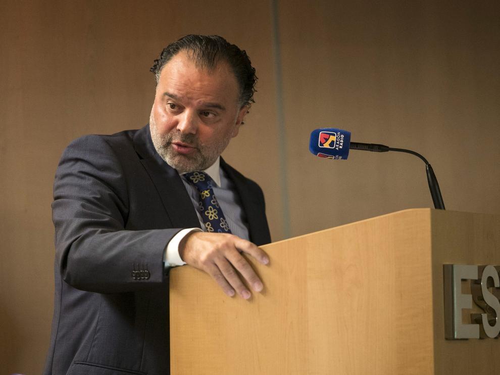 Fernando de Yarza López Madrazo, presidente de HENNEO, este miércoles, en la sede de ESIC.