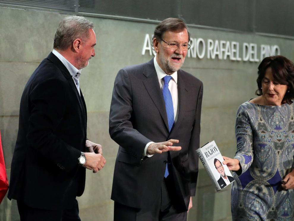 Presentación del libro de Mariano Rajoy.