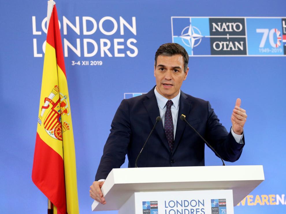 Sánchez en la Cumbre de la OTAN este miércoles