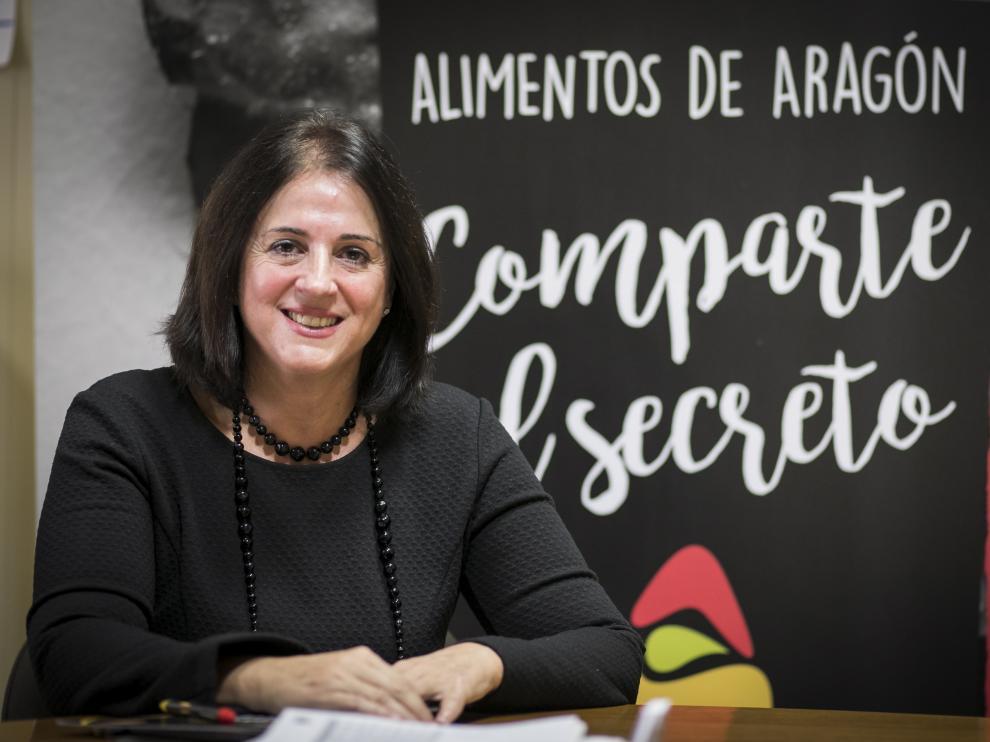 CARMEN URBANO GOMEZ ( DIRECTORA GENERAL DE INNVACION Y PROMOCION AGROALIMENTARIA DEL GOBIERNO DE ARAGON ) / 26/11/2019 / FOTO : OLIVER DUCH [[[FOTOGRAFOS]]]