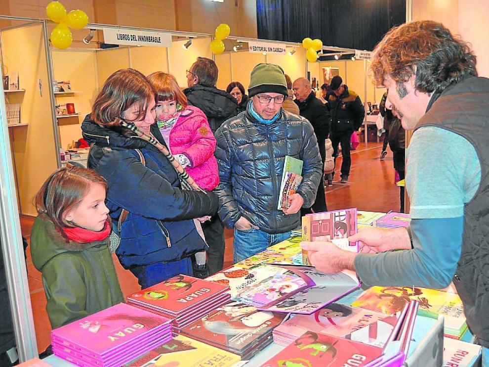 La Feria del Libro Aragonés volverá a reunir al público familiar.