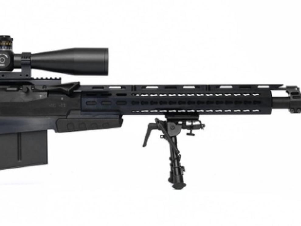 Rifle calibre 22.