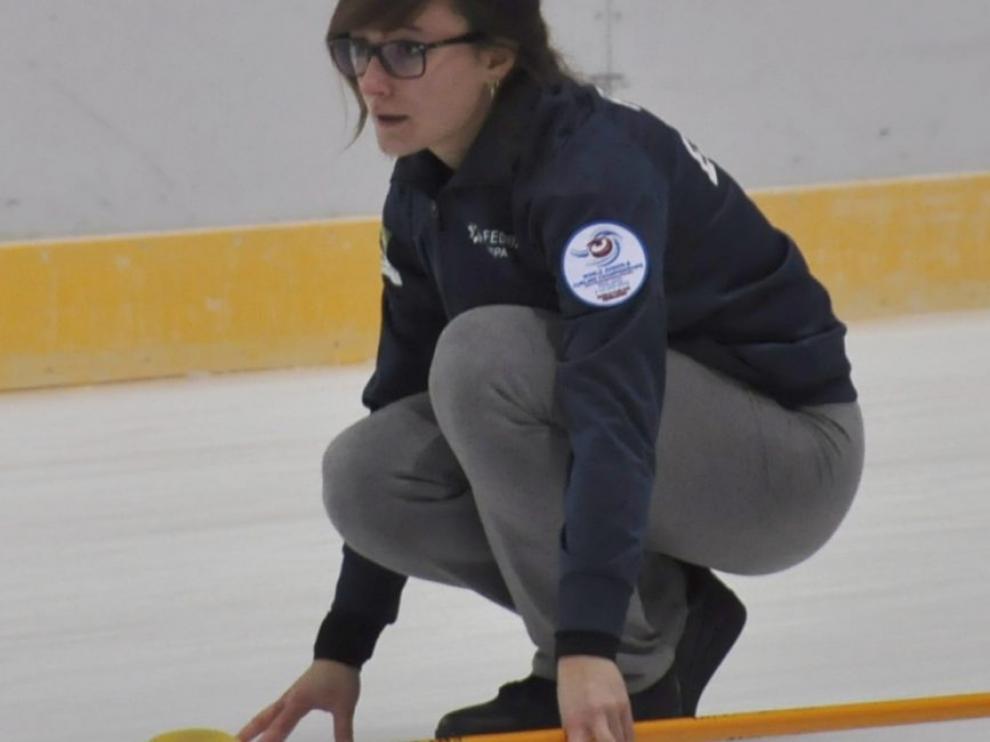 Carmen Pérez, competirá en Lausana en la modalidad de curling.