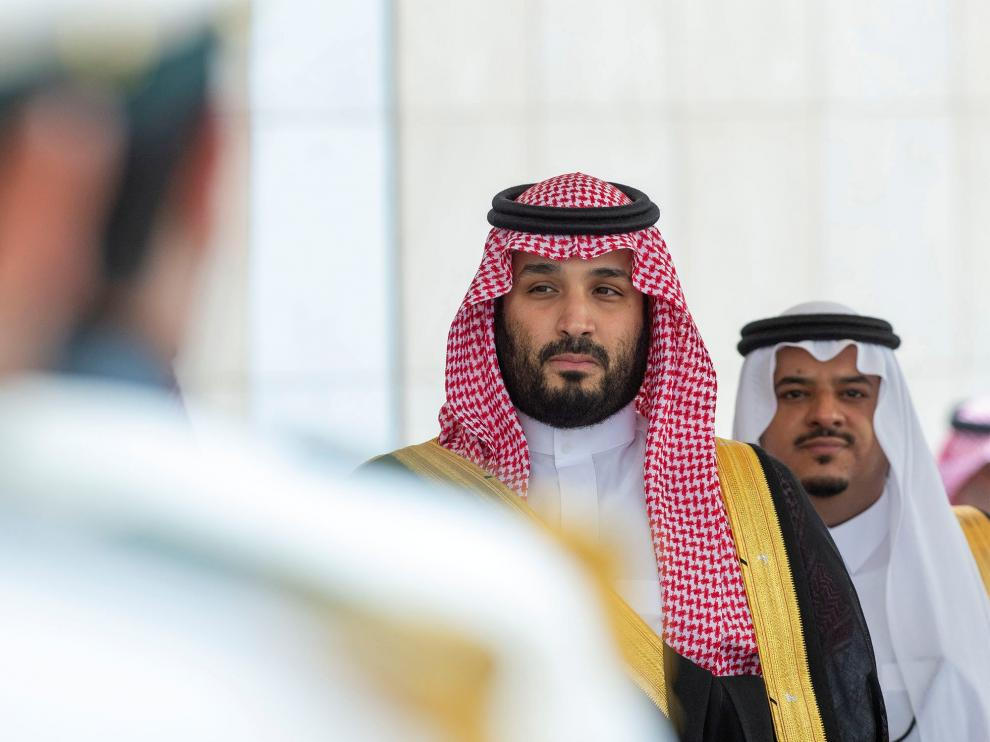 El príncipe heredero saudí, Mohammed bin Salman.