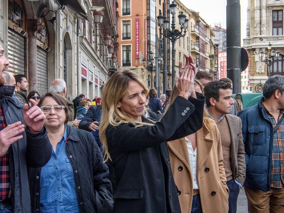 Cayetana Álvarez de Toledo, el pasado domingo, en Bilbao.
