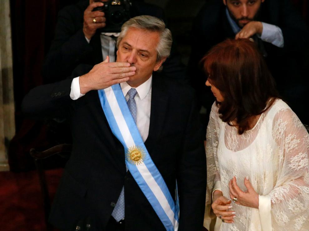 Toma de posesión de Alberto Fernández como presidente de Argentina.