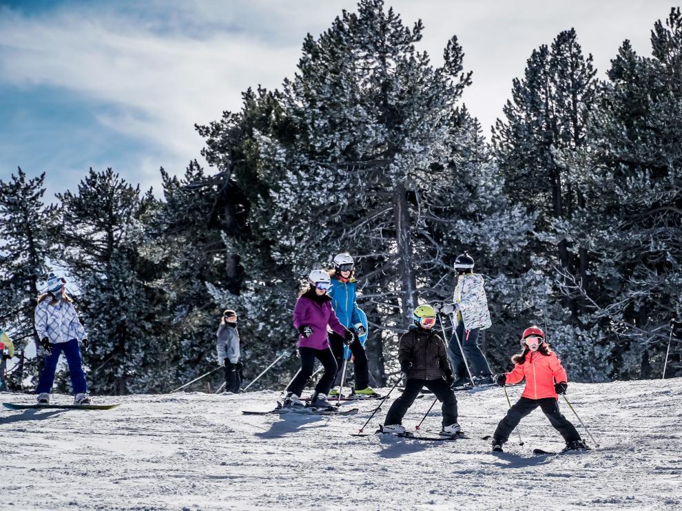 La estación de esquí de Valdelinares apta para toda la familia