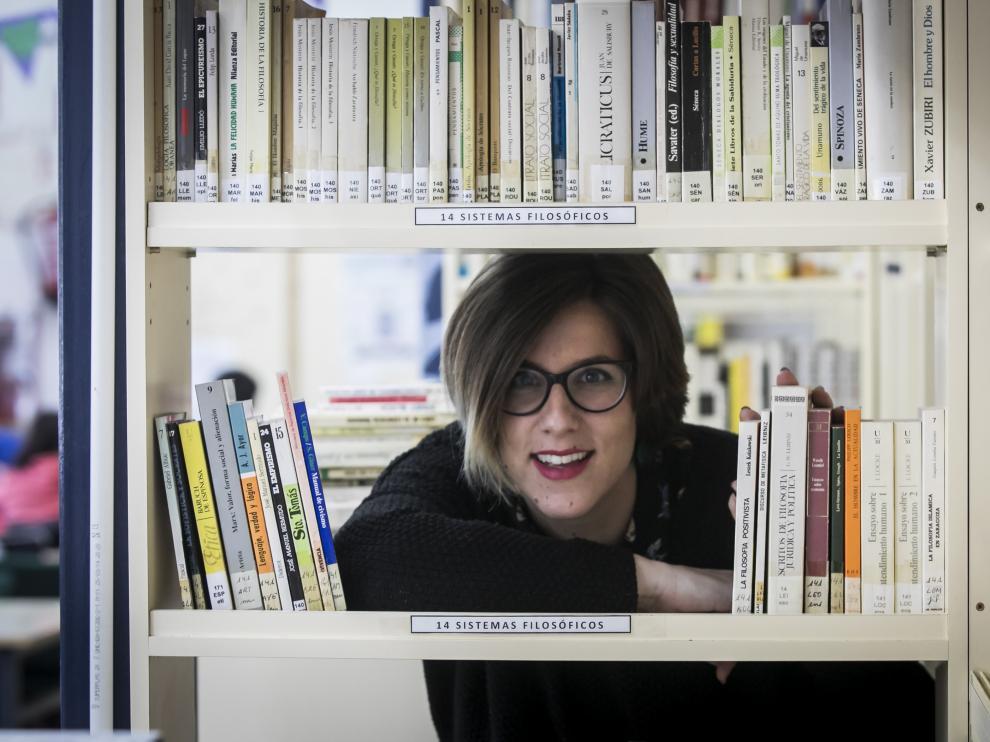 Celia Barrio Marcén, profesora de Lengua y Literatura, vinculada al Departamento de Innovación Made in Blecua.