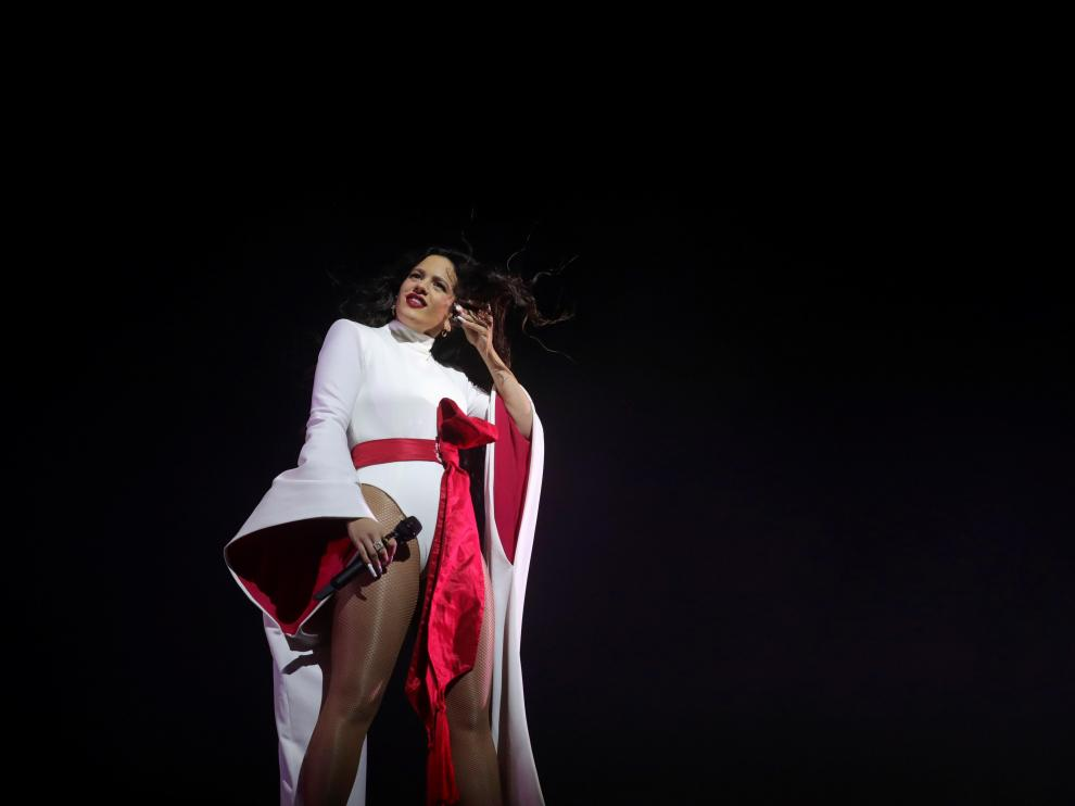 Rosalía cierra la gira de 'El mal querer' en Madrid.