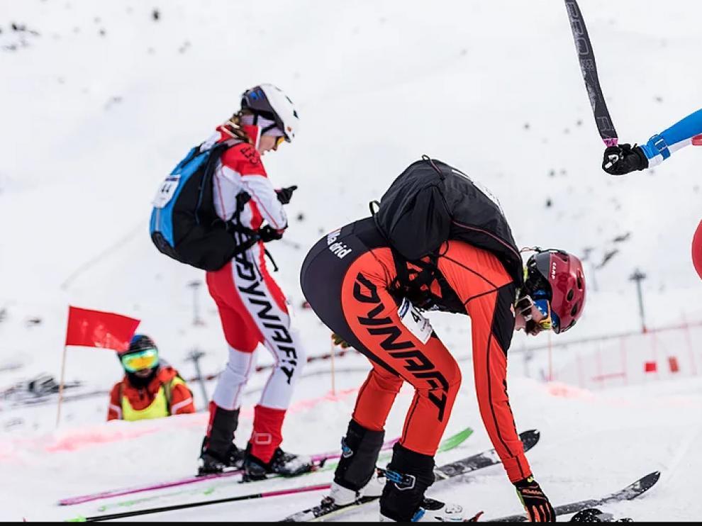 Equipo aragonés de esquí de montaña