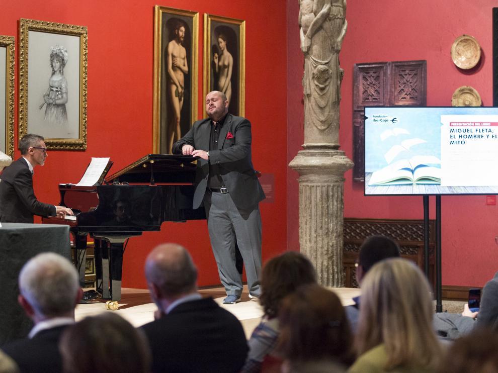 Presentación del libro sobre Miguel Fleta