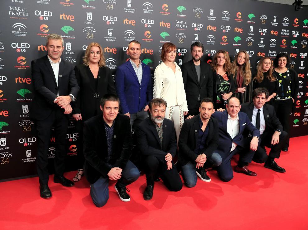 Fiesta de los nominados a los premios Goya.