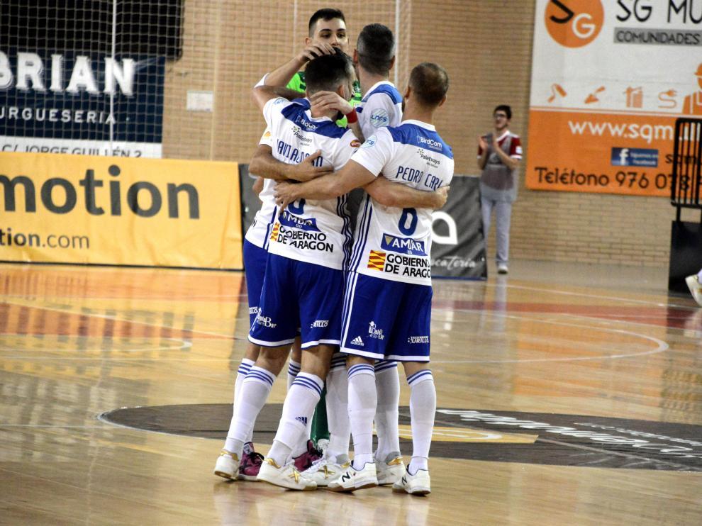 Imagen de archivo de un encuentro del Fútbol Emotion Zaragoza.