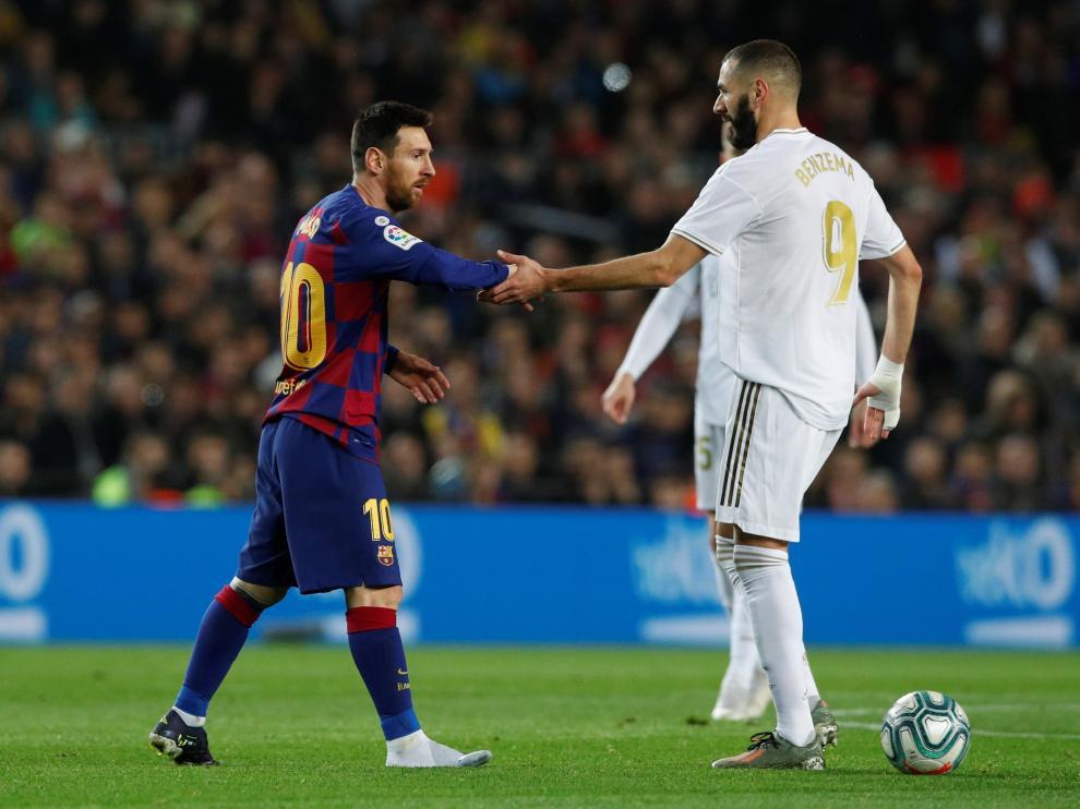 Barça y Real Madrid empataron tras un partido jugado al ataque