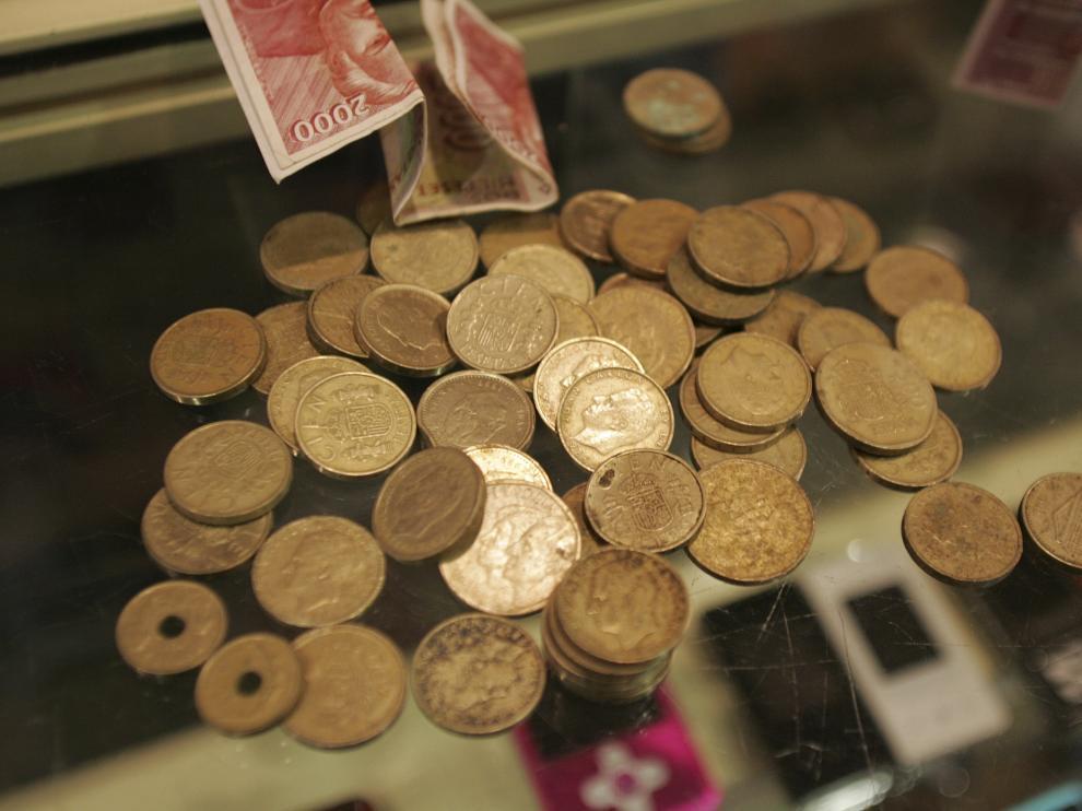 Las pesetas estuvieron en circulación hasta el 28 de febrero de 2002.