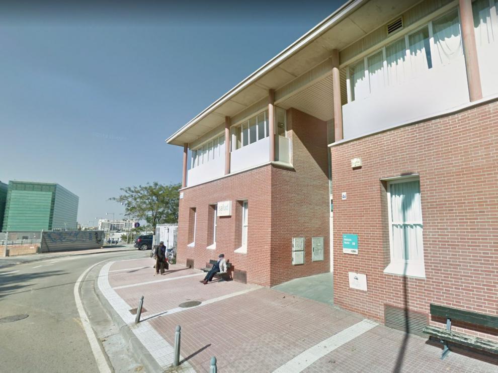 Una imagen del centro de salud Delicias Norte de Zaragoza.