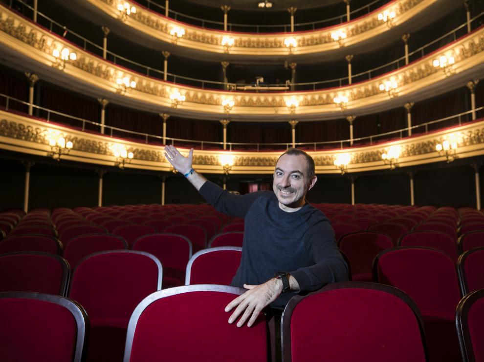 Entrevista al actor Rafa Blanca en el Teatro Principal / 20-12-2019 / FOTO: GUILLERMO MESTRE [[[FOTOGRAFOS]]]