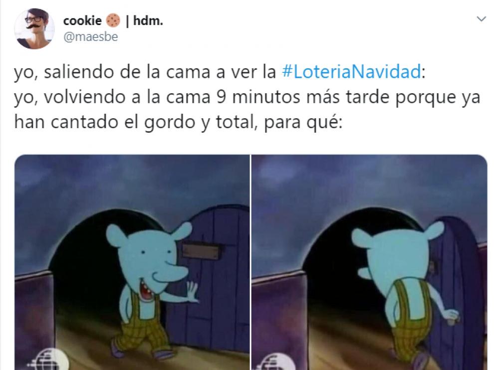 Los mejores memes del sorteo de la Lotería de Navidad 2019