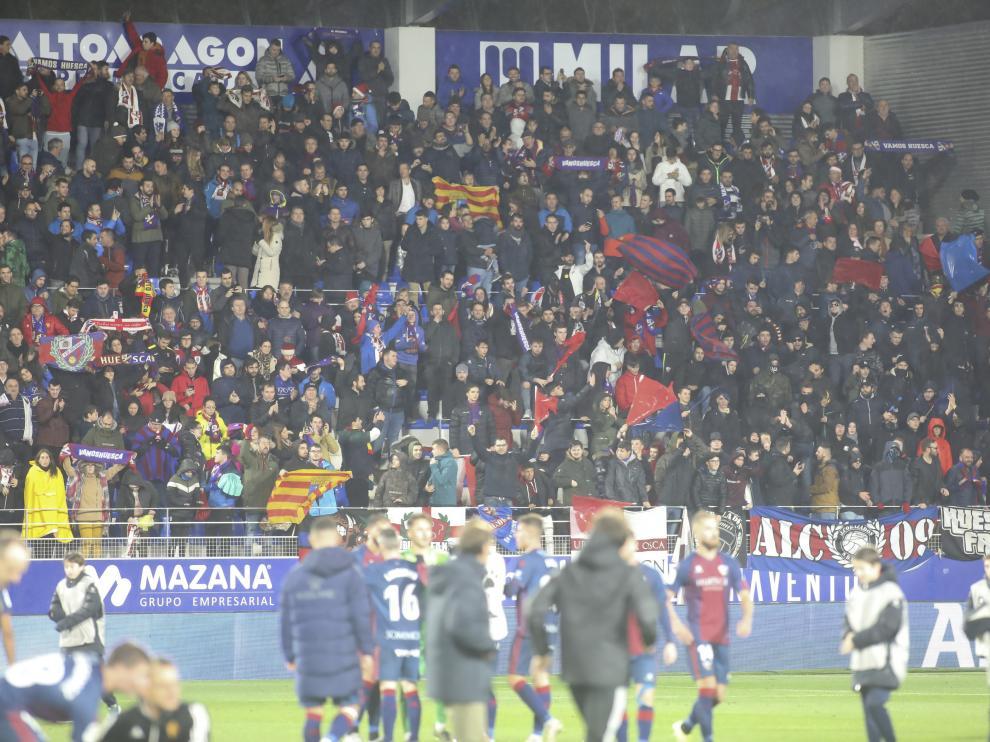 Partido SD Huesca- Real Zaragoza / 22-12-19 / Foto Rafael Gobantes [[[FOTOGRAFOS]]]