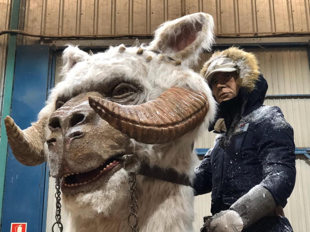 Una figura de Star Wars, única en Europa, se estrena en la exposición de Zaragoza.