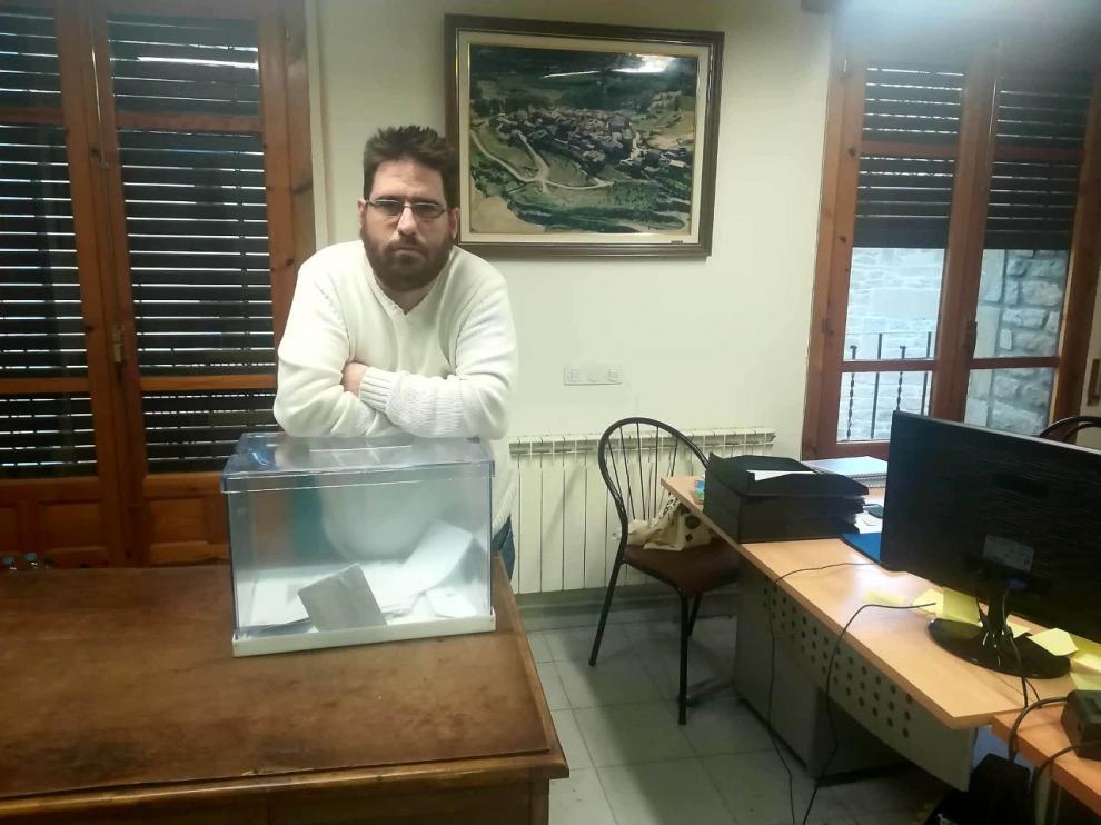 José Ramón Reyes, alcalde de El Frago.